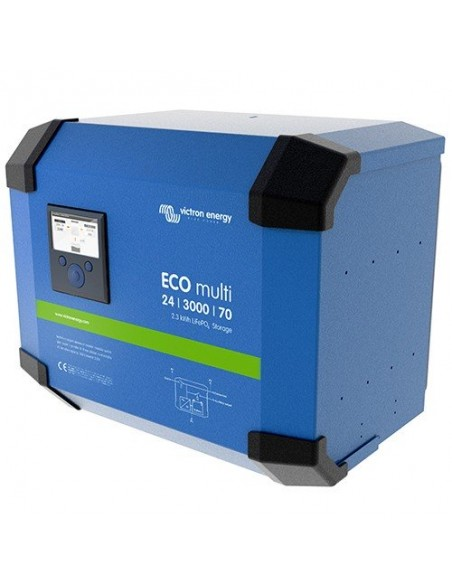 Convertisseurs/chargeurs ECOMulti 3000VA 24V 2500W Victron Energy 24/3000/70-50
