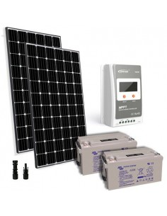 Solar Kit pro 600W 24V European Panel Charge Regulator 30A MPPT Battery 90Ah