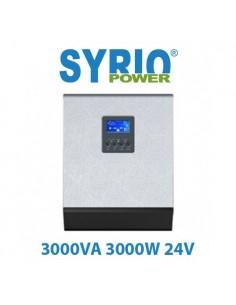 Inverter 3000W 24V 3000VA Onda Pura Regolatore 50A PWM Fotovoltaico Off Grid