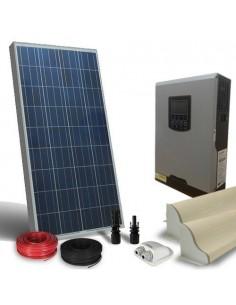 Kit Solare Camper 150W LUX Pannello Inverter 800W 12V Fotovoltaico RV Caravan