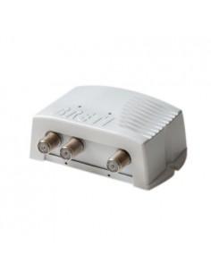 Amplificatore Intelligente Antenna Segnale TV per DVB-T Camper Barca Baita