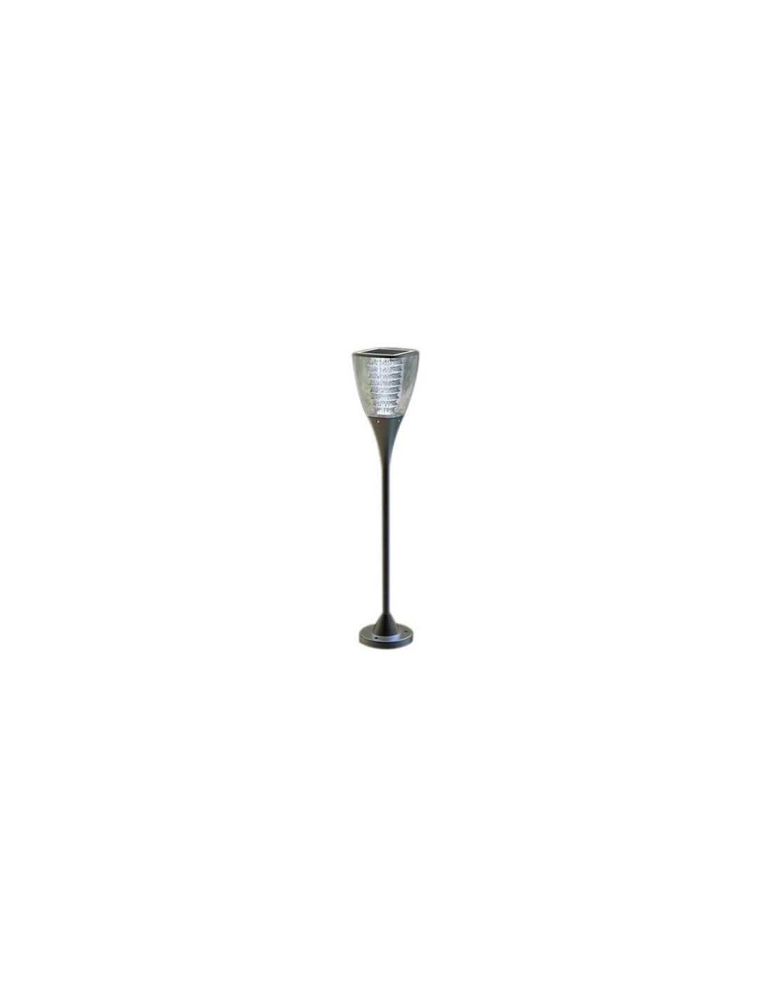 Lampe De Jardin 3000k Led Blanc Chaud Avec Panneau Photovoltaique Jardin