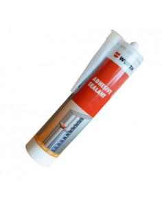 Adhesive sealant MS ADHESIVE AND SEALANT WIT 310ML Glass and metal