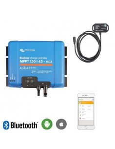 Contrôleur de charge 45Ah MPPT 12/24/48V 150Voc MC4 + Bluetooth Victron Energy