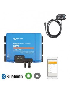 Charge controller 70Ah MPPT 12/24/48V 150Voc MC4 + Bluetooth Victron Energy