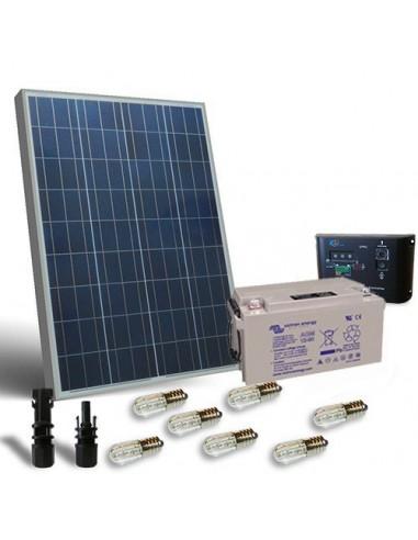 Kit votive solaire 100w panneau lampes votives du Regulateur de charge batterie