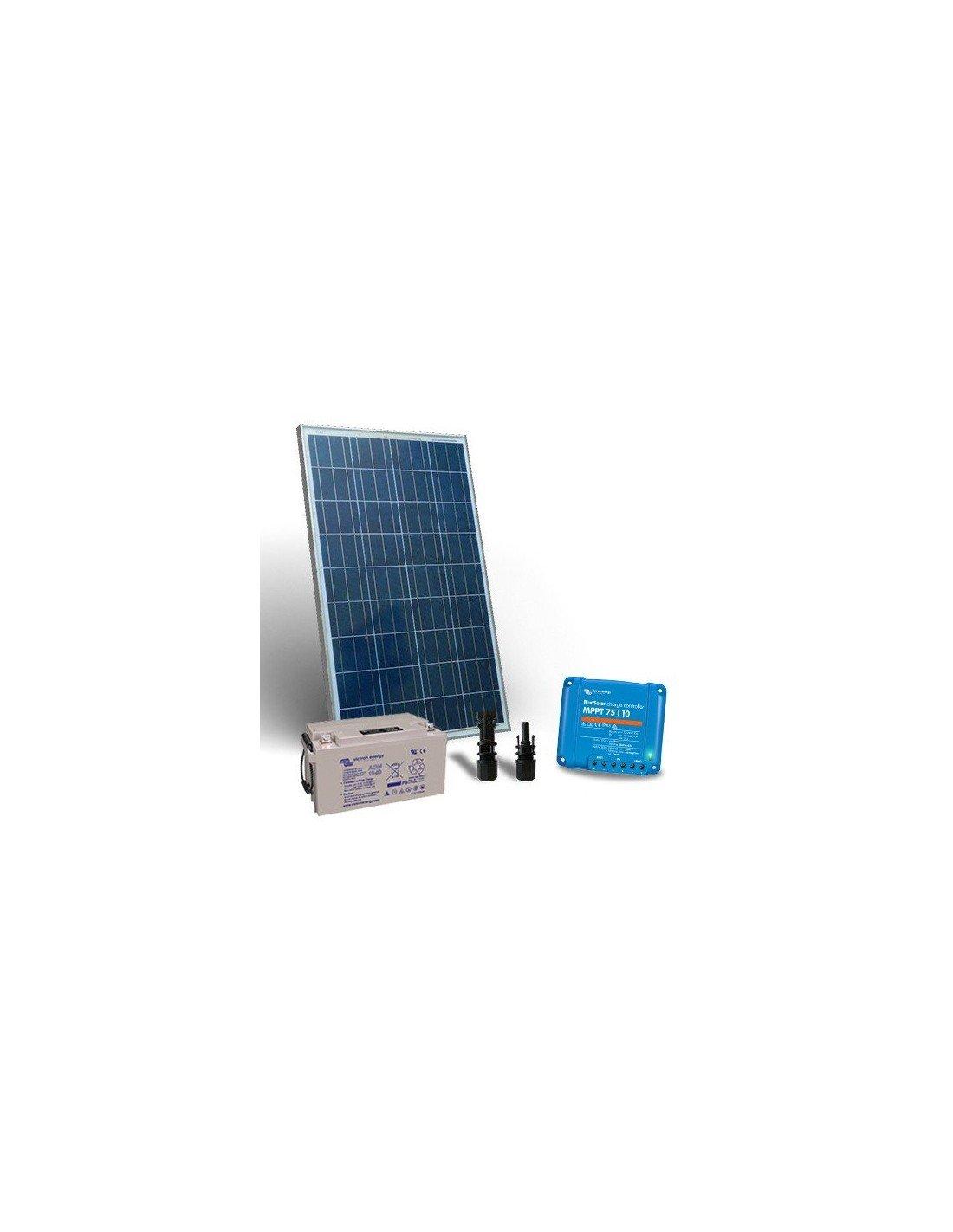 Kit Pannello Solare 12v 10a : Kit solare w v pro pannello fotovoltaico regolatore
