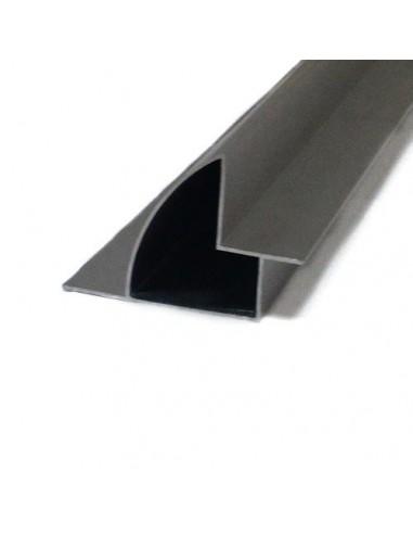 PAR de profundidad 670 mm soportes de aluminio para camping-cars y barcos