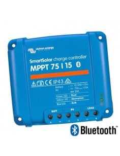 Smartsolar MPPT Charge Controller 75/15 75Voc 15A Victron Energy