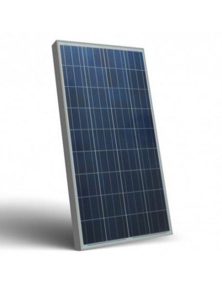 Photovoltaic Solar Panel 200W 12V Polycrystalline PV System Camper Boat Chalet