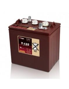 Batterie cyclique Trojan 240Ah 6V T-125 pour le Photovoltaique, Stand-Alone