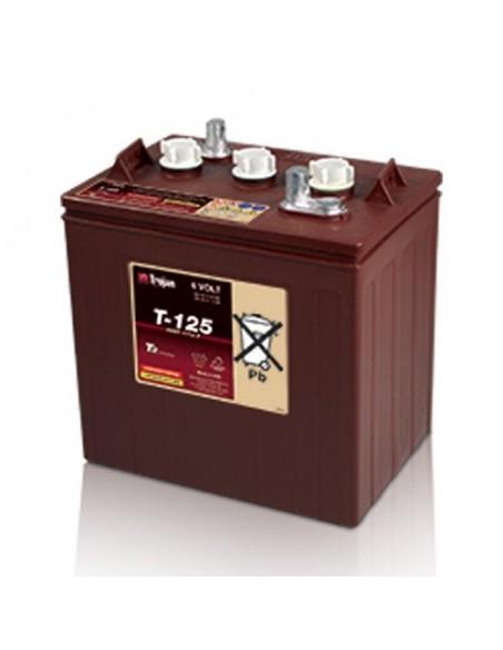Free acid batteries