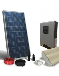 Kit Solaire Campeur 120W LUX SR Panneau Onduleur 1000W 12V Photovoltaique RV