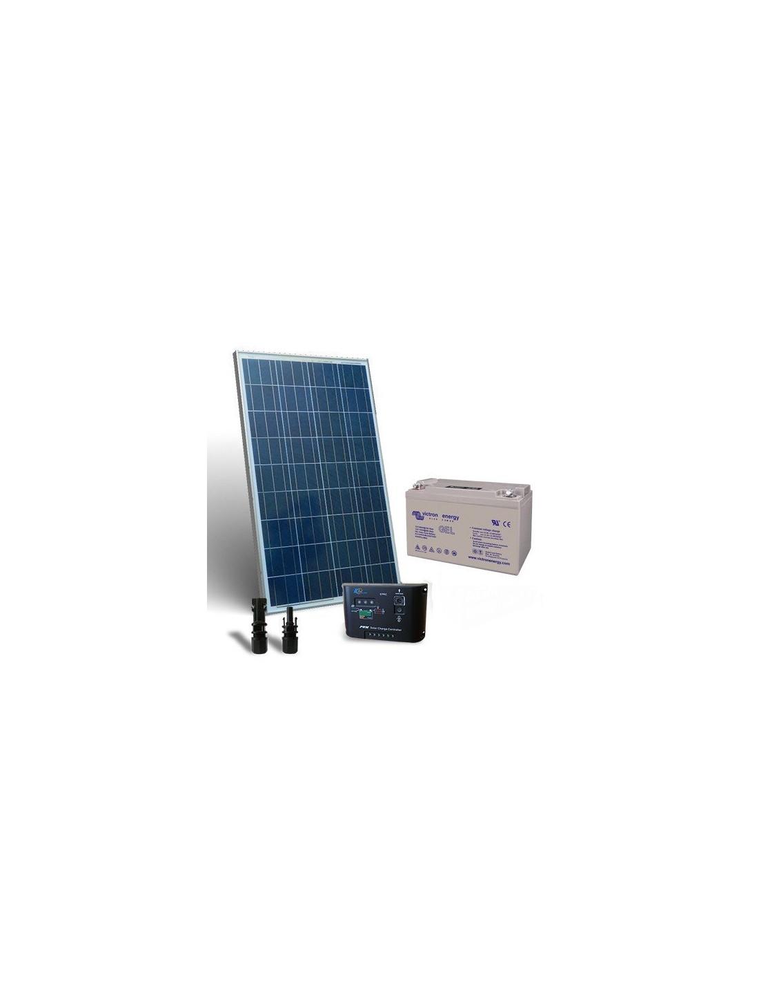 Kit Pannello Solare 12v 10a : Kit solare pro w v pannello fotovoltaico regolatore