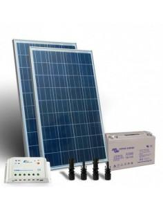 Kit Solare 240W 12V Pro SR Fotovoltaico Regolatore 20A PWM Bateria 110Ah AGM