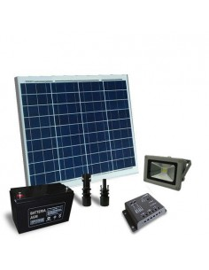 Solar Lighting Kit 60W 12V Outdoor with 1x Lighthouse LED 20W Photovoltaic