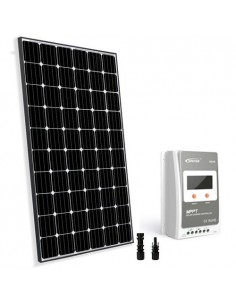 Solar Kit Base TR 300W 12/24V Photovoltaic Panel Charge Regulator 30A MPPT House