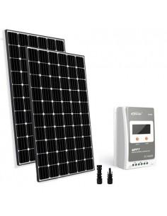 Kit Solare Base TR 600W 24V Pannello Fotovoltaico Regolatore 30A MPPT Casa Baita