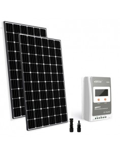 Solar Kit Base TR 600W 24V Photovoltaic Panel Charge Regulator 30A MPPT House