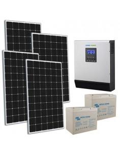 Kit Casa Solare TR Pro 1.2kW 24V Inverter 3000W Batteria AGM Super Cycle 100Ah