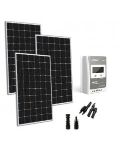 Kit solaire 900W 24V TR Base Regulateur de Charge 40A MPPT