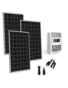 Kit Solare 900W 24V TR Base Pannello Monocristallino Regolatore 40A MPPT