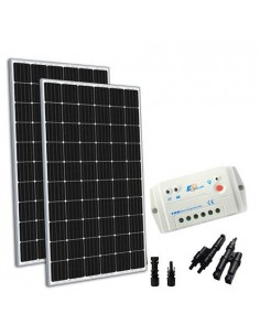 Solar Kit 600W 24V TR Base Panel Charge Regulator 30A PWM House Lodge