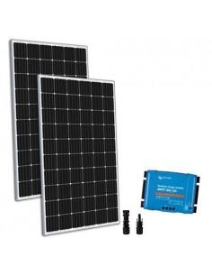 Kit Solare 600W 12/24V TR Base2 Pannello Regolatore 50A MPPT Casa