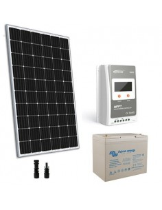 Solar Kit 300W 12V TR Pro Panel Regulator 30A MPPT Battery Super Cycle 100Ah