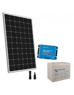 Kit solaire 300W 12V TR Pro2 Panneau Regulateur MPPT Batterie 100Ah Super Cycle