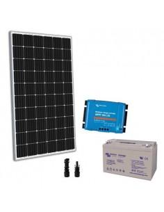 Kit solaire 300W 12V TR Pro2 Panneau Regulateur 30A Batterie 110Ah GEL