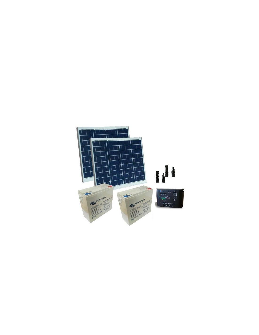 Schema Elettrico Regolatore Di Carica Per Pannelli Solari : Kit solare cancelli elettrici w v pannelli solari regolatore