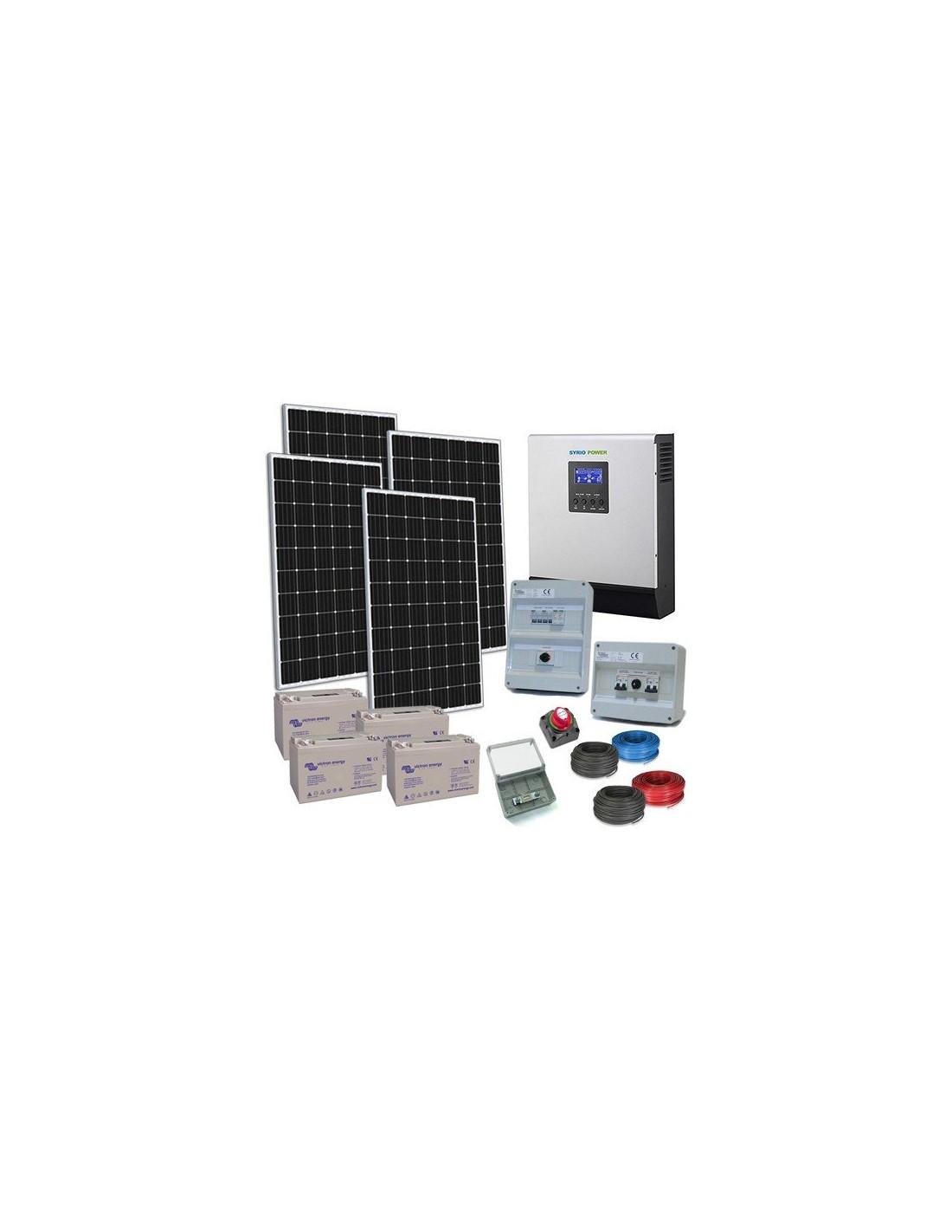 kit solarhaus tr plus 48v wechselrichter 5000w. Black Bedroom Furniture Sets. Home Design Ideas