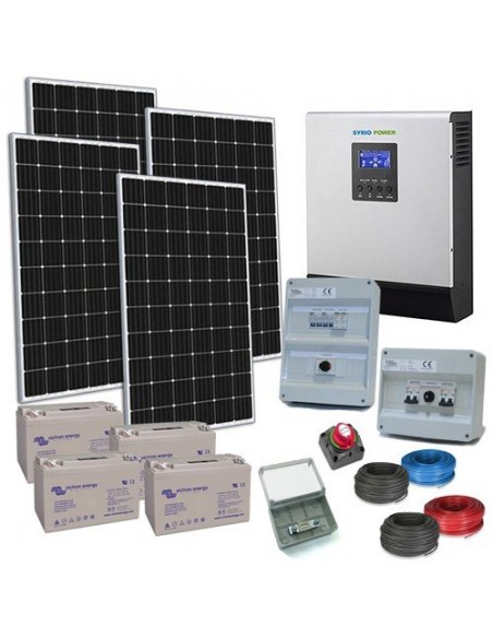 Kit Photovoltaik off-grid