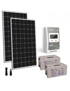 Kit solaire 600W 24V TR Pro Panneau Regulateur 30A MPPT Batterie AGM 110Ah