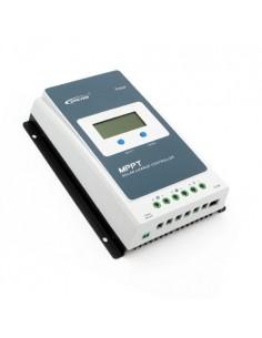 Controlador de carga MPPT 30A 12/24V 100Voc EP Solar Tracer-AN Pantalla LCD