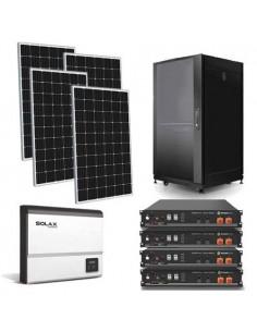 Kit Casa Solare 3.2kW Impianto Fotovoltaico con accumulo litio di 4.8kW