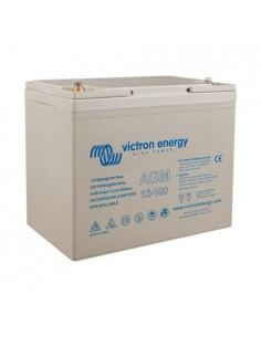 Batería 100Ah 12V AGM Super Cycle Victron Energy Fotovoltáico Náutica Cámper