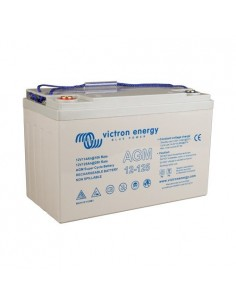 AGM Super Cycle Battery 125Ah 12V Victron Energy Photovoltaic Nautical Camper