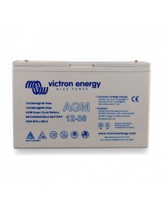 AGM Super Cycle Battery 38Ah 12V Victron Energy Photovoltaic Nautical Camper
