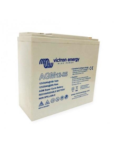Batería AGM DEEP CYCLE 90Ah 12V Victron Energy Fotovoltáico Náutica Cámper