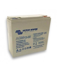 Batteria 25Ah 12V AGM Super Cycle Victron Energy Fotovoltaico Nautica Camper