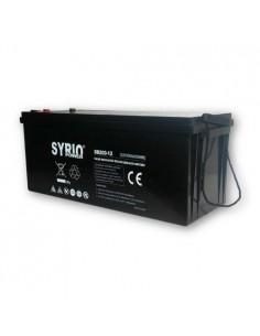 AGM Battery 200Ah 12V Syrio Power Fotovoltaico Accumulatore Veicoli Elettrici