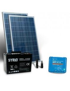 Kit Solaire 160W 12V Pro2 Panneau Contrôleur 15A MPPT Batterie AGM 100Ah SB