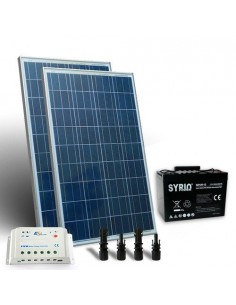 Kit solaire pro 260W Panneau Solaire Regulateur de Charge 20A - PWM Batterie