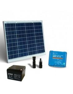 Kit Solaire 50W 12V Pro2 Panneau Contrôleur de charge 10A MPPT Batterie 26Ah SB