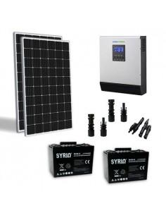 Kit Solaire Chalet 600W TR 24V Pro Panneau Onduleur 3000W batterie 100Ah SB