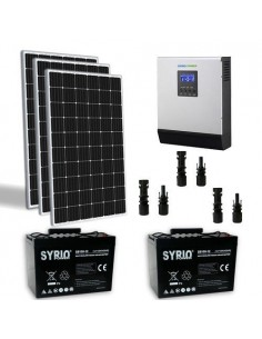 900W 24V Solar Chalet Pro Panel TR Inverter 3000W battery 100Ah  SB