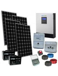 Kit Casa Solare TR Plus 1.2kW 24V Inverter 3000W Fotovoltaico Batteria 100Ah SB