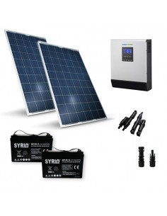 Cabin Solar Kit TR Pro 540W 24V Panel Inverter 3000W AGM Battery 120Ah SB
